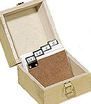 Index Card Wooden Box - A7
