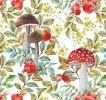 Toadstools & Rosehips Giftwrap