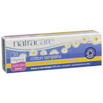Natracare - ORGANIC cotton Tampons