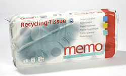 Toilet Paper Recycled - MEMO 2-ply