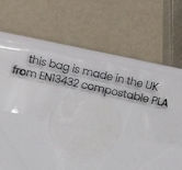 PLA Clear Eco Bags - 138x190mm peel & seal