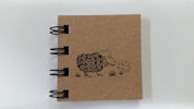 Tiny Klee Spiral Note Pad