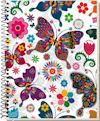 A5 Design Cover Spiral Notebooks, ruled