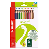 Stabilo Jumbo 3-corner Colouring Pencils set