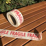 FRAGILE Paper Tape - 5cm wide
