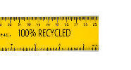 Recycled Plastic Ruler
