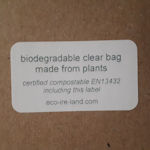 Compostable PRINTED Labels - 38.1x21.2mm