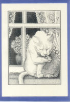 Irish A6 Notelets - Cat in the Window