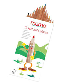 Colouring Pencils - FSC certified - memo