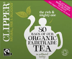 Organic Black Tea - Clipper Everyday Fair Trade Tea Bags