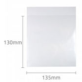 PLA Clear Eco Bags - 135x130mm peel & seal