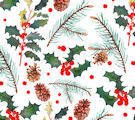 Christmas Giftwrap: Nature in Winter