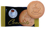 Cafe Concerto Biscuits Individually wrapped