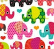 Happy Elephants Giftwrap