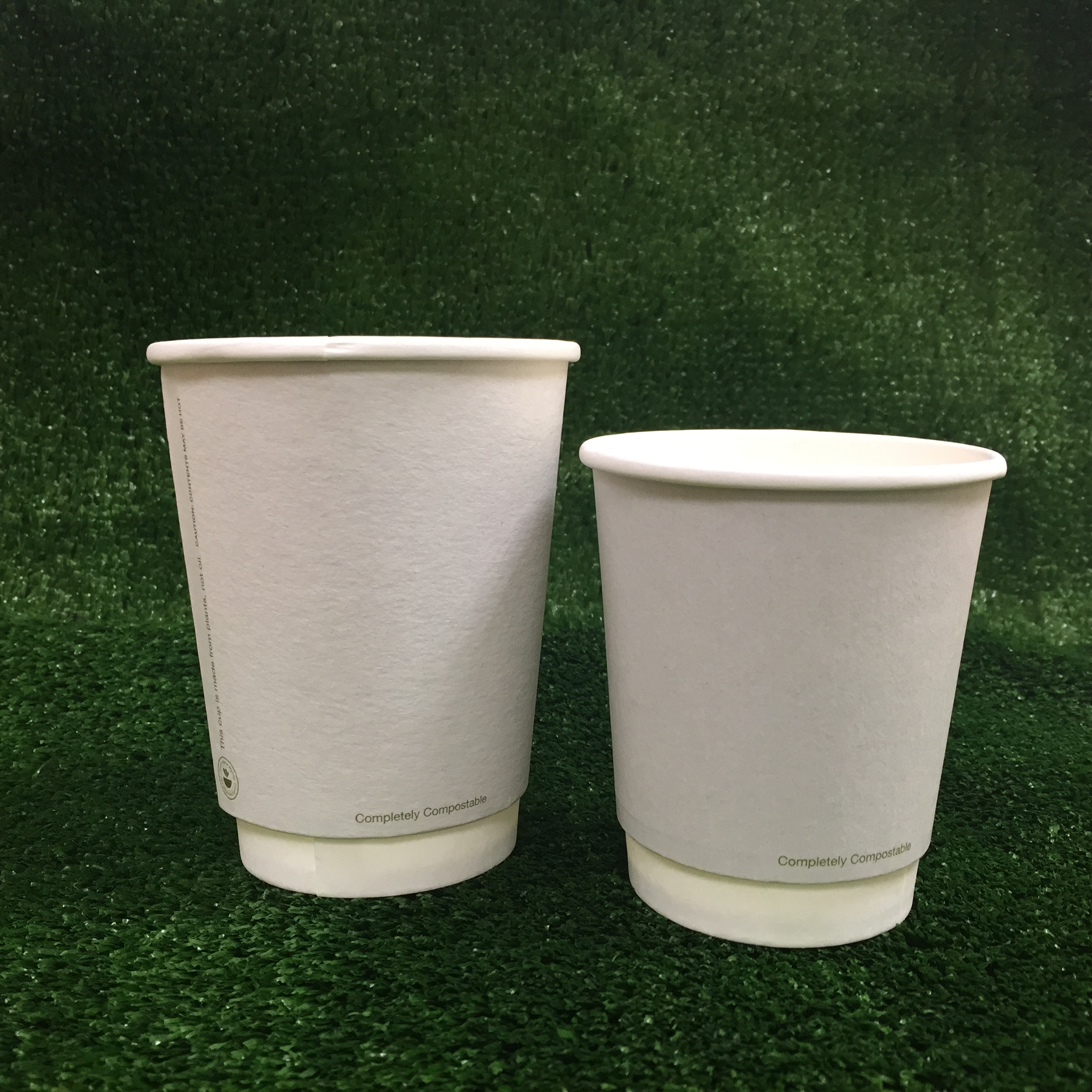 Compostable Double Wall Hot Cups - IRISH MADE