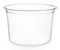 Cold Food Containers CLEAR compostable