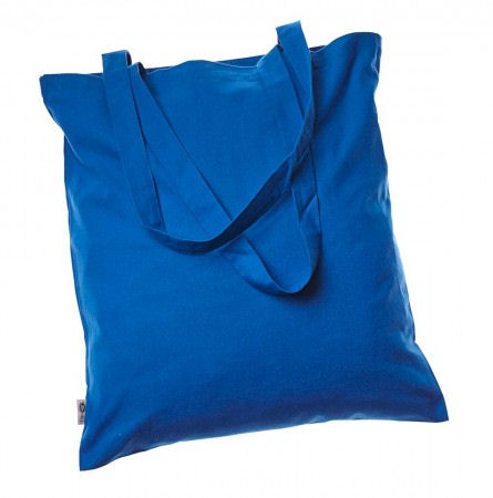 Cotton Bags - coloured 100% Fair Trade Organic BLUE