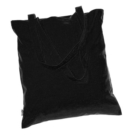 Cotton Bags - coloured 100% Fair Trade Organic BLACK