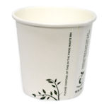 Compostable Single Wall Hot Cups - 4oz MINI