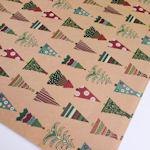 Christmas Giftwrap: Trees & Trees