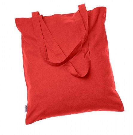 Cotton Bags - coloured 100% Fair Trade Organic RED