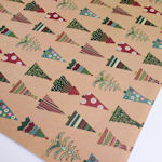 Christmas Giftwrap: Decorative Trees