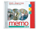 Rewriteable DVDs