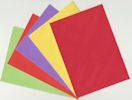 C6 Coloured envelopes, assorted