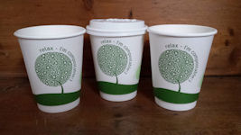 Biodegradable Double Wall Hot Cups