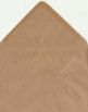 C6 Brown Envelopes, Ribbed Kraft