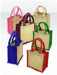 Wells lined Mini Jute Bags