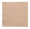 Brown Recycled Serviettes, 2-ply