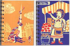 Nicola Colton Postcard Sketchbooks 1