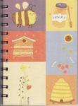 Nicola Colton postcard Sketchbook Bees