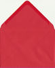 C6 110g Bright Red Envelopes