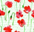 Poppy on Text Giftwrap