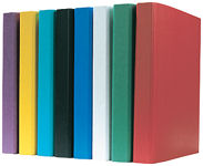 2-Ring Binder A4, Coloured, extra wide