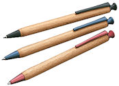 Roller Ball Pen, Wooden, Gel Ink