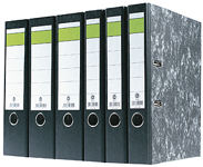 Lever Arch Files, Mottled Black Cover