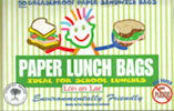 Lunch Bags - white greaseproof paper