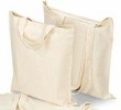 Cotton Bags - 100% ORGANIC FAIR TRADE unbleached