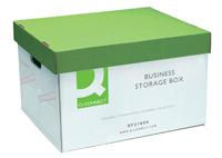 Storage Box - Large Connect White/Green - easy fold up