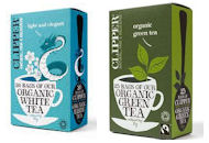 Organic Green and White Tea - Clipper Fair Trade
