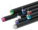 Black HB Pencils with Swarovski Crystals